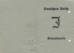 Nazi-Issued Jewish Identification Card for Young Girl