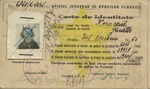 Identity Card for Janette Kornreich, from Bukovnia: