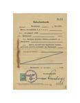 Birth Certificate for Maria Elisabetha Detzel