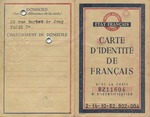"Identity Card for Parisian Jew, Sala Barrois, with Hand Stamp ""Juif"" Marking her as a Jew in Occupied France"