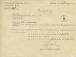 Geheim (Secret) Estonian Police Document
