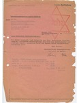 Life Insurance Document for Margot Loewenstein