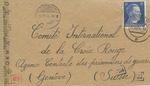Envelope to the Comité International de la Croix Rouge (International Committee of the Red Cross), Agence Centrale des Prisonniers de Guerre (Central Agency of Prisoners of War) Geneva, Switzerland, From Laine Gerncinchaftslager Abteroda, Germany
