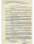 Official Document with W. Filderman Signature Stamp Regarding Jewish Work Requirements
