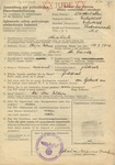 Resident Registration Form for Jews