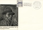 First Day Cover: German commemoration of Felix Nussbaum