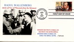 First Day Cover: American Celebration of Raoul Wallenberg