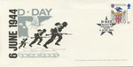 First Day Cover: British Commemoration of D-Day, June 6, 1944