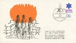 First Day Cover: Israeli 35th Anniversary of Liberation of Aschwitz Concentration Camp