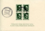 Commemorative Adolf Hitler Stamps