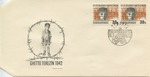Czechoslovakian Commemoration of Children from Terezin Ghetto Envelope