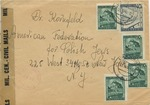 Correspondence From Austrian Displaced Persons Camp