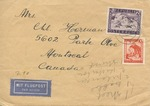 Correspondence from Displaced Persons Camp