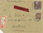 Correspondence from a German Displaced Persons Camp