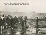 "Official French Photograph: ""The Lives of the Prisoners in Belsen Concentration Camp"""