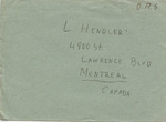 Wedding Invitation from Bergen-Belsen Displaced Persons Camp