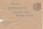 Envelope Addressed to the Jewish Lager Central Committee at Bergen-Belson Displaced Persons Camp