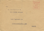 Correspondence Regarding the Full List of Donors of Packages Sent to Bergen-Belsen Displaced Persons Camp from 1946-1947