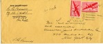 Envelope from APO 394, Italy