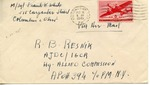 Envelope from the Intergovernmental Committee on Refugees