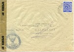 Envelope from the United National Relief and Rehabilitation Administration