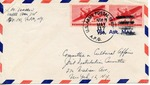 Envelope from the United National Relief and Rehabilitation Administration sent from APO 541 (Austria)