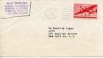 Envelope from the United National Relief and Rehabilitation Administration sent from APO 170