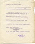 Letter Describing Discontinuance of U.S. Army Mail Services, APO 887