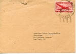 Envelope from the Preparatory Commission of the International Refugee Organization sent from APO 225 (Germany)