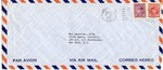 Envelope to the Preparatory Commission of the International Refugee Organization sent from APO 407