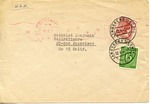 Envelope from the Preparatory Commission of the International Refugee Organization Team 1062