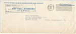 Envelope from War Crimes Court to APO 407 American Joint Distribution Committee/International Refugee Organization HQ