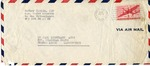American Joint Distribution Committee Envelope Concerning Displaced Persons, Sent from APO 228 (Belgium)