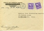 American Joint Distribution Committee Correspondence Concerning Displaced Persons, Sent from APO 174 (Linz)