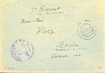 Envelope from the SS and Politzeifuehrer Weissruthenien (Belarus)