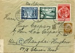 """Israel"" Envelope to Shanghai"