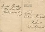 Theresienstadt Postcard