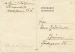 Theresienstadt Postcard