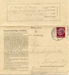 Censored Auschwitz Letter Sheet from Polish Prisoner Feliks Suligowski