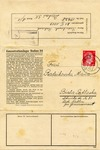 Letter on Dachau Inmate Stationery