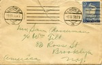 Letter from William Feuer in Lwow, Poland to Samuel Wasserman in Brooklyn, N.Y.