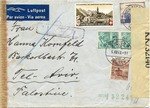 Swiss Airmail to Tel Aviv