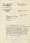 Letter From Martin Bormann