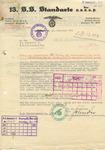 Letter Involving Christoph Diehm, Richard Hildebrandt and Heinrich Himmler