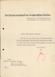 Letter from Hermann Goring