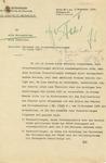 Letter from Joseph Goebbels