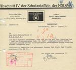 Letter from Friedrich Jeckeln