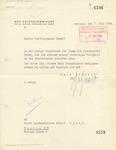 Letter from Arthur Seyss-Inquart