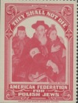 American Federation of Polish Jews Label