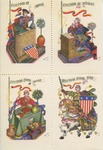 Arthur Szyk: Four Freedoms Labels